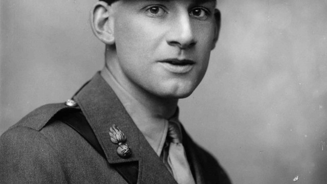 Siegfried Sassoon Images courtesy: Getty Images